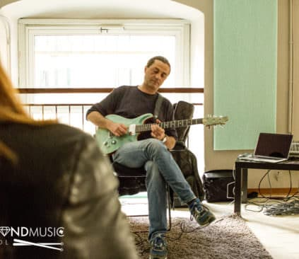 Open Day con Marco Cravero - Diamond Music School Genova